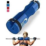 Fit Viva 杠铃垫适用于标准杠铃和奥林匹克杠铃 带*带 从泡沫垫赠送 30 天的挑战,可用于举重、臀部推力、方形和耳钉