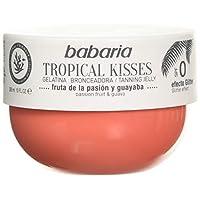 BABARIA 中性热带吻 BRONCEADORA FRUTA DE LA Pasion 热带吻 GELATINA 热情水果300毫升,黑,仅