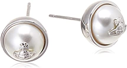 Vivienne Westwood 英国品牌 OLGA SMALLBE625720/2耳环银白色BE625720/2