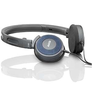 """AKG K420 便携折叠式头戴耳机 小耳罩设计 音场丰厚开阔 强劲低音 尽情享""""乐""""  附收纳袋"""