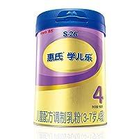 惠氏WyethS-26学儿乐奶粉4段3岁以上学龄前儿童配方900克(听装)