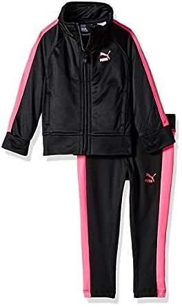 Puma 女婴运动夹克和打底裤套装 黑色(Puma) 24 Months