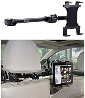 Premium Multi Passenger Universal Headrest Cradle Car Mount for Apple iPad/iPad 2 / iPad 3 / iPad 4 / iPad Air and iPad Mini w/Swivel Vibration-Free Cradle (revised - with all 7-15 inch tablets) 141[平行进口]