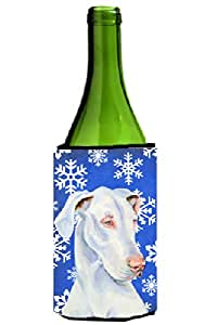Great Dane Winter Snowflakes Holiday Michelob Ultra Koozies for slim cans LH9266MUK 多色 750 ml