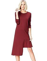 FIND Women's Asymmetric Hem Dress