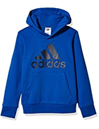 adidas Kids 阿迪达斯 男童 大童套头卫衣 YB LOGO HOOD