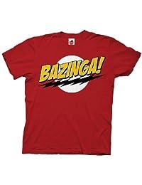 THE BIG bang theory bazinga 男式 t 恤