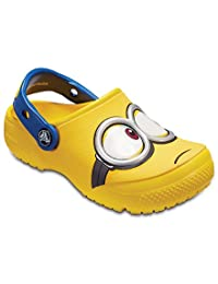 Crocs 中性童 时装凉鞋 CrocsFunLab Minions Clog 204113
