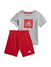 Adidas 阿迪达斯 I LOGO SUM 儿童运动服套装