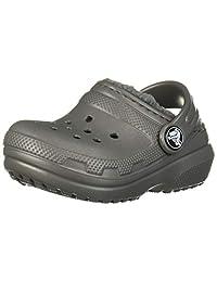 Crocs 卡骆驰儿童经典内衬洞鞋