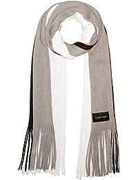 Calvin Klein 女士三色针织围巾