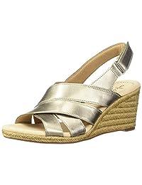 Clarks 其乐 Lafley Krissy Espadrille 女士坡跟凉鞋