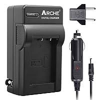 ARCHE NP-BX1/M8 NPBX1 BC-CSN 快速充电器适用于[索尼 Cyber-Shot DSC-RX100, DSC-RX100 II, DSC-RX100M II, DSC-RX100 III,DSC-RX100 V, DSC-H400, DSC-HX50V, DSC-HX300, DSC-HX400, DSC-RX1]