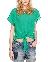 S.Oliver 女式 时尚修身飘逸百搭雪纺衫