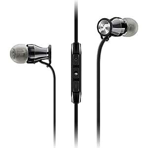 Sennheiser 森海塞尔 MOMENTUM In-Ear i Black Chrome 入耳式耳机 苹果版 黑铬色