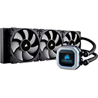CORSAIR HYDRO 系列 PRO RGB 280 mm 散热器双140 mm ml 系列 PWM 风扇 Advanced RGB 照明 Liquid CPU Cooler 360mm