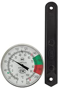 Rattleware 97100 5-Inch Thermometer Kit, Easy Steam
