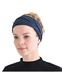 CHARM Casualbox 男式女式弹力 Bandana 头巾日本长发双面头巾