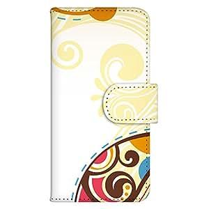 智能手机壳 手册式 对应全部机型 印刷手册 wn-463top 套 手册 阿拉伯风格 UV印刷 壳WN-PR013826-M AQUOS PHONE 104SH 图案G