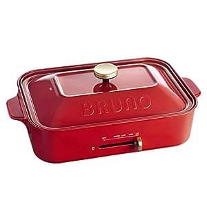 Bruno 多功能電熱鍋 电磁炉 COMPACT HOT PLATE 红色
