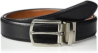 Tommy Hilfiger 汤米·希尔费格 皮带腰带 11TL02X188 尺寸34 黑色/棕色 (亚马逊自营 香港直邮)