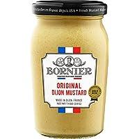 BORNIER Original Dijon Mustard, 7.4 Ounce