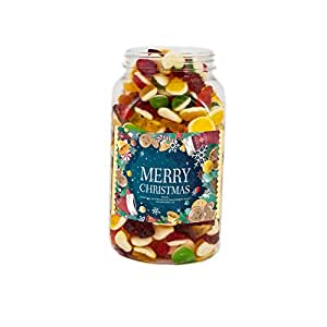 Mr Tubbys Jelly Mix - Merry Christmas Green Label - Medium Jar 750g(Pack of 1)