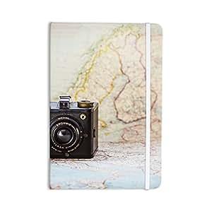 "KESS InHouse Journal Debbra Obertanec""Travel Time"" 黑色/米色一切笔记本,20.32 x 13.97 cm (DO1047ANP01)"