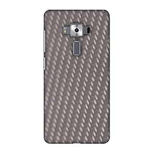 amzer 设计师修身扣带屏幕护理套装用于 zenfone 3豪华 zs570kl Carbon Fibre Redux Stone Gray 12