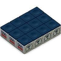 Silver Cup Billiard Chalk Box, 12 Pack