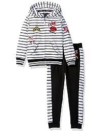 Limited Too Girls 幼童法国厚绒布套装 2 件套(更多款式可选)