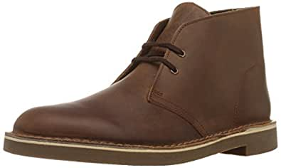 Clarks 男士 Bushacre 2 Boot,Dark Brown,7 M US