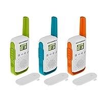 摩托罗拉 PNI-MTAT42-3 便携式的 PMR 无线电台通话关于 T42 套装(3 件装)