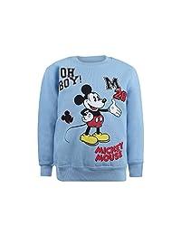 迪士尼男孩款米奇补丁运动衫