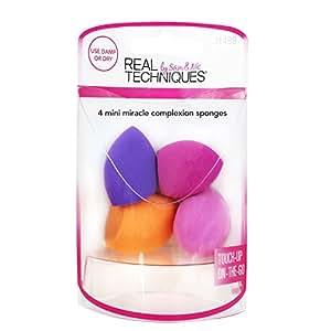 REAL TECHNIQUES- Mini MC Sponges, 4 Count