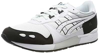ASICS 亚瑟士 Gel-Lyte 男士跑鞋,Bianco,XX 白色(白色/白色 100) 44 EU
