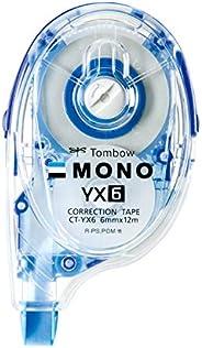 TOMBOW鉛筆 修正帶 MONO YX 6mm幅 10個
