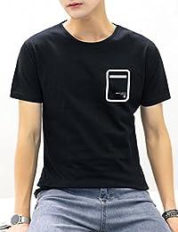 Goralon 夏季日系短袖t恤【两件100元多款选择】修身半袖衫个性打底衫男上衣男T恤