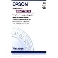 Epson爱普生喷墨纸,相片品质,带哑光涂层,A3,297 x 420 毫米,102 克/平方米,100 张