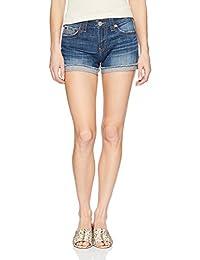 True Religion 女式 Jennie 曲线短裤