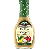 Maple Grove Farms Fat Free Salad Dressing, Caesar, 8 Ounce (Pack of 12)