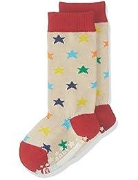 Baby Story 婴儿高筒袜彩色星星 米白色 9~12cm