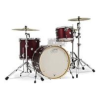 Drum Workshop Design 3 件套鼓套装(深红色)