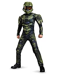 Master Chief Classic Muscle Costume, X-Large (14-16)