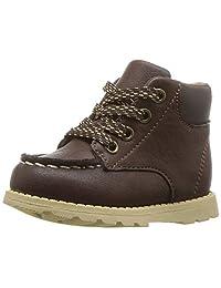 Carter's 男童品牌棕色时尚靴子