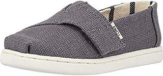 TOMS 青年/小号经典2.0一脚蹬鞋 Shade 传统帆布 6 M US Toddler