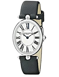 Frederique Constant Silver Dial Satin Strap Ladies Watch FC-200MPW2V6 海外卖家直邮