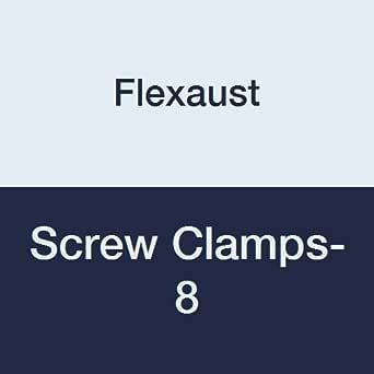 Flexaust 螺丝夹-8 金属 20.32 厘米不锈钢螺丝夹