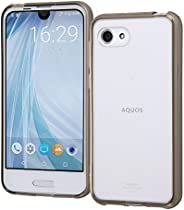 Lay-out 手机壳。 黑 AQUOS R compact