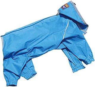 WHCY 宠物用品 狗衣服 雨衣 J外套W 2403W085 宝蓝色 9号